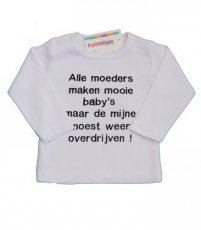 "T-shirt ""Alle moeders"""