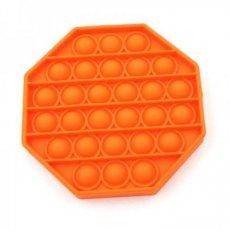 Pop it hexagon oranje