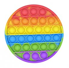Pop it rainbow rond